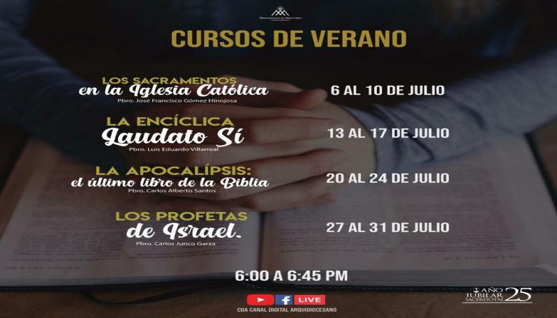 Cursos De Verano Virtuales Noticias Arquidiocesis De Monterrey