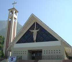 Parroquia cristo de la monta a col contry la silla 1er for Sillas para iglesias en monterrey